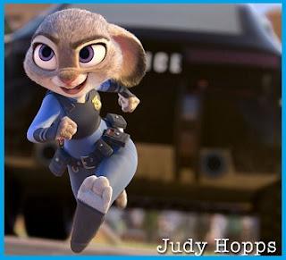 Judy Hoops, Pemeran Utama di Film Animasi Zootopia
