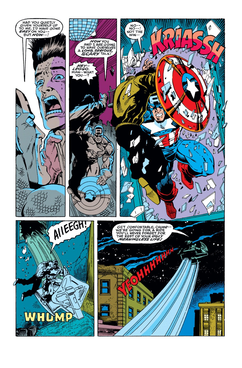 Captain America (1968) Issue #375 #308 - English 6