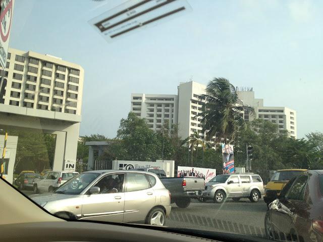 Traffic Jam for Kim Kardashian Concert at Eko Hotel & Suites
