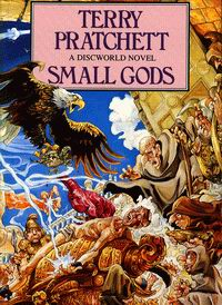 Cover of Small Gods, a novel by Terry Pratchett