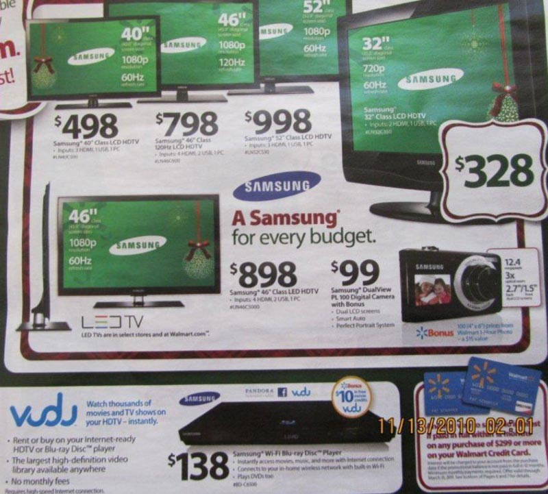 BLACK FRIDAY 2011 WALMART