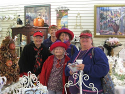 RED HATTERS LOVE TO VISIT BERNIDEEN'S
