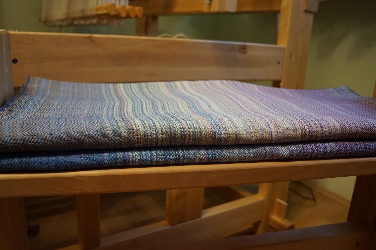ręcznie tkana chusta do noszenia dzieci / handwoven baby wrap / bawełna / cotton