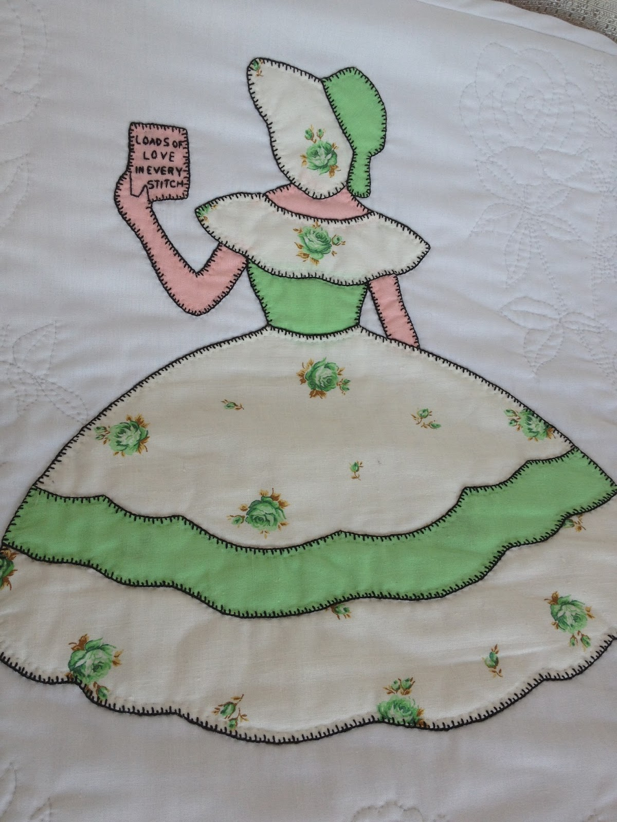Pattern for old fashioned sunbonnet