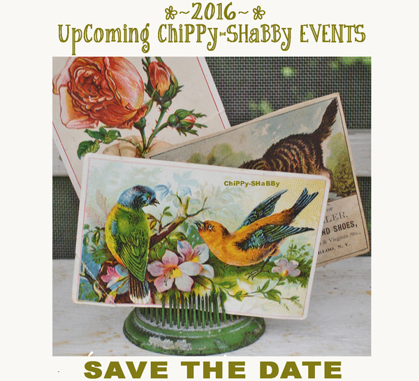 SAVE - THE - DATE!*!*!   ~SHoP ChiPPy-ShaBBy~