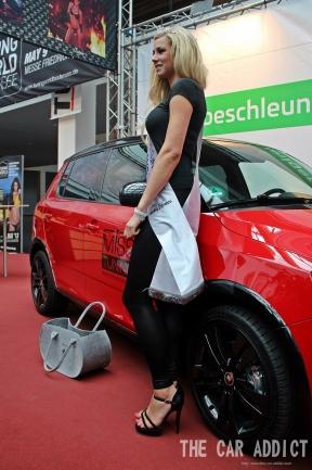 MISS TUNING 2013 Leonie Hagmeyer-Reyinger aus Schlier bei Ravensburg