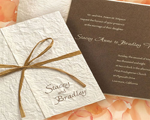 unique Invitations for Summer 2013 Weddings