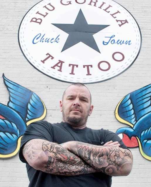 Blu gorilla charleston tattoos blu gorilla tattoo shop for Charleston tattoo artists