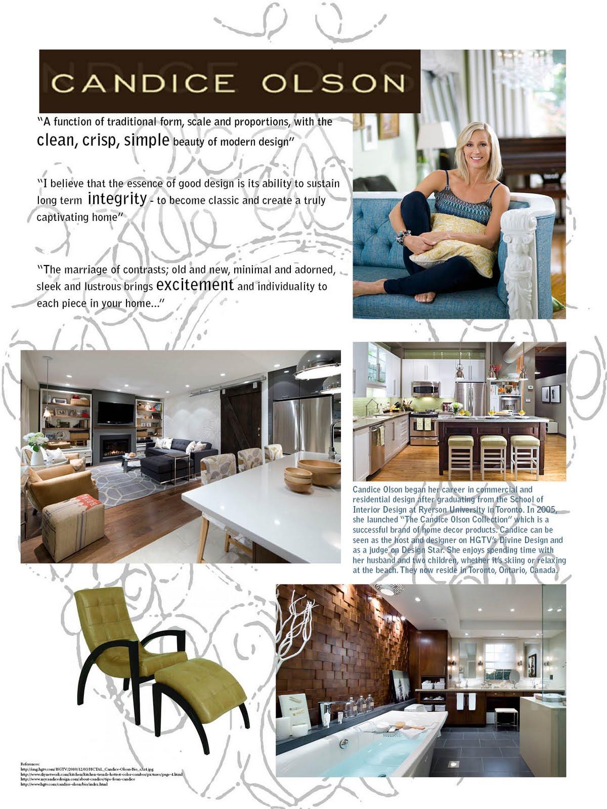 Tamara Upton Interior Design Portfolio Candice Olson Poster