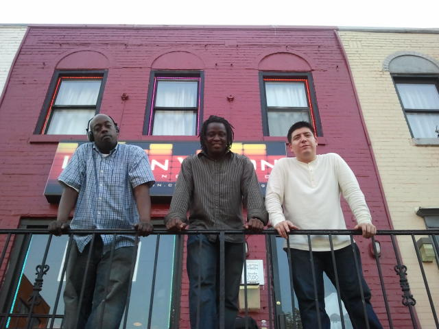 THE TEAM. (DJLaZ-EyE, Dark Prince, and Americano