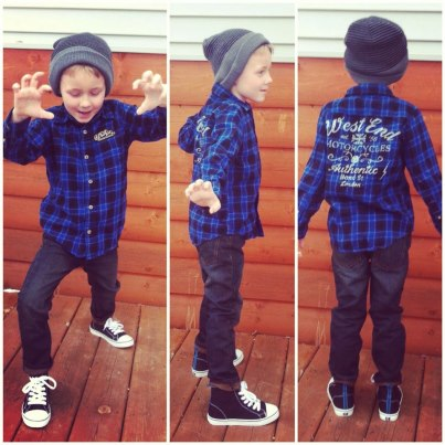 cutely dressed boy boy outfit idea skinny jeans beanie hi top converse