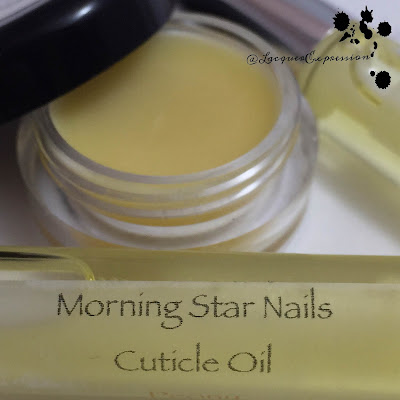 Handmade cuticle oils and balms from Morning Star Nails