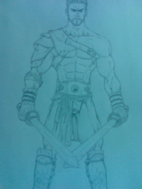 SpartacuS otro dibujo por mi!!