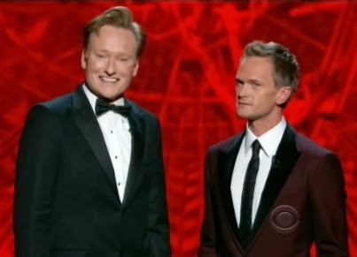 Conan O'Brien Neil Patrick Harris Emmy Awards hosts opener sketch