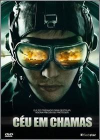 capa Filme Céu em Chamas DVDRip RMVB Dublado
