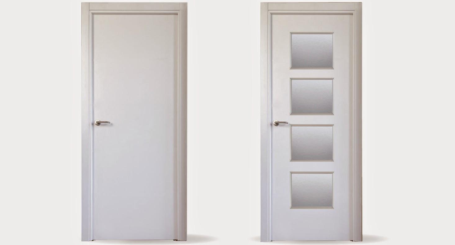Fabricaci n de puertas lacadas carpinteros en vitoria - Puertas lacadas en blanco ...