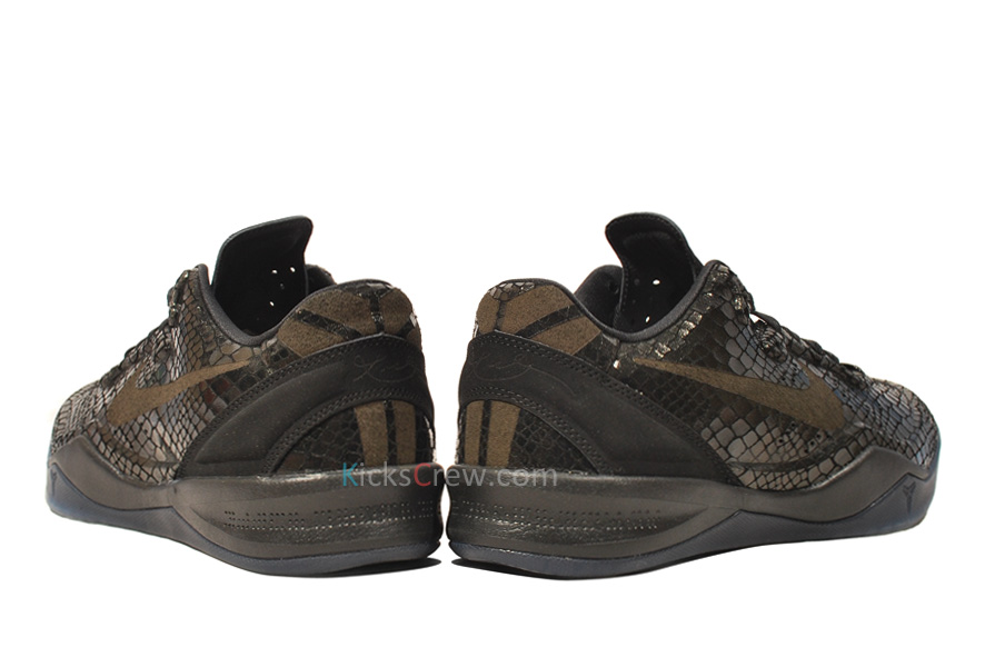 Nike Zoom Kobe 8 EXT \u2014 Black Mamba Year Of Snake