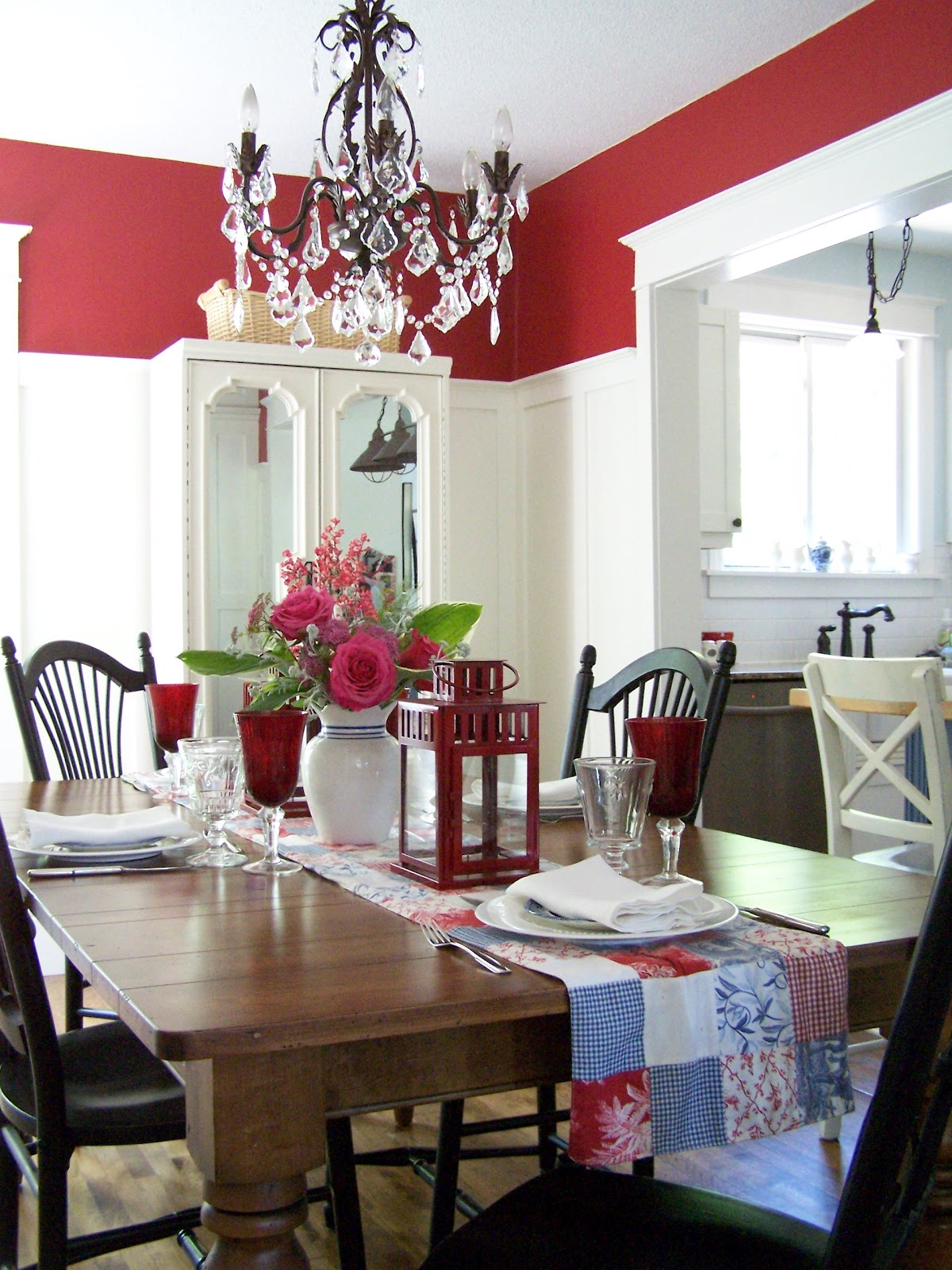 Delorme designs dining room reveal finally for Q significa dining room