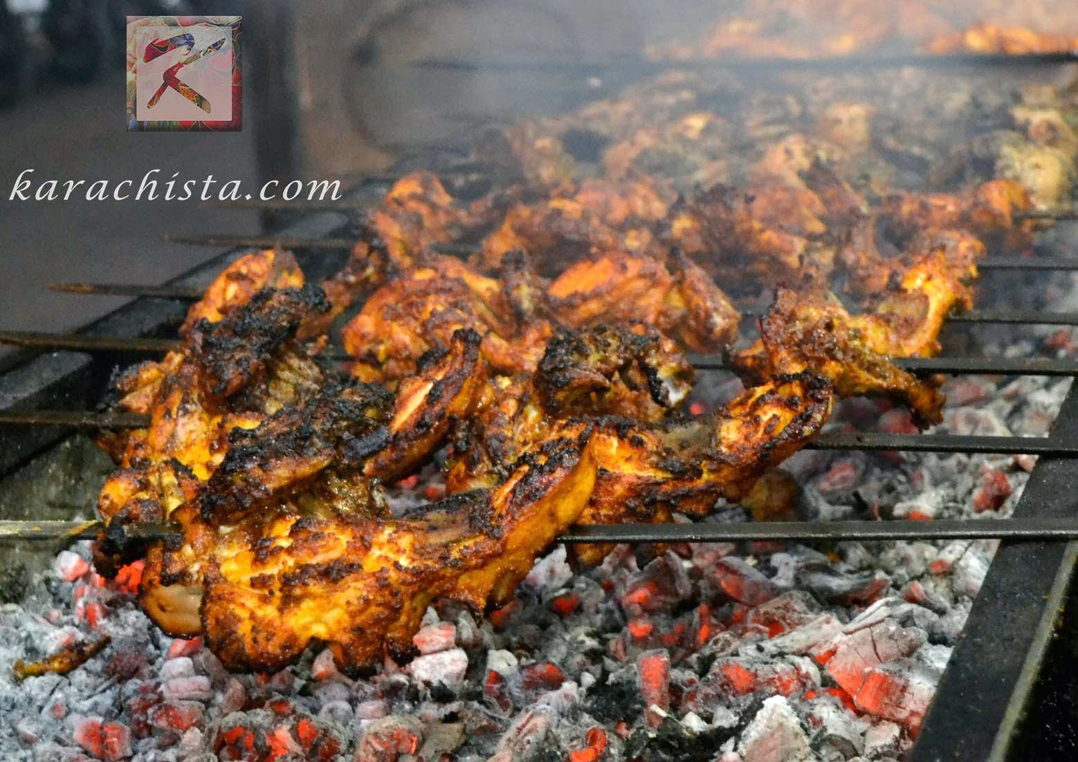 Chicken Tikka at Sheikh Abdul Ghaffar Kebab House
