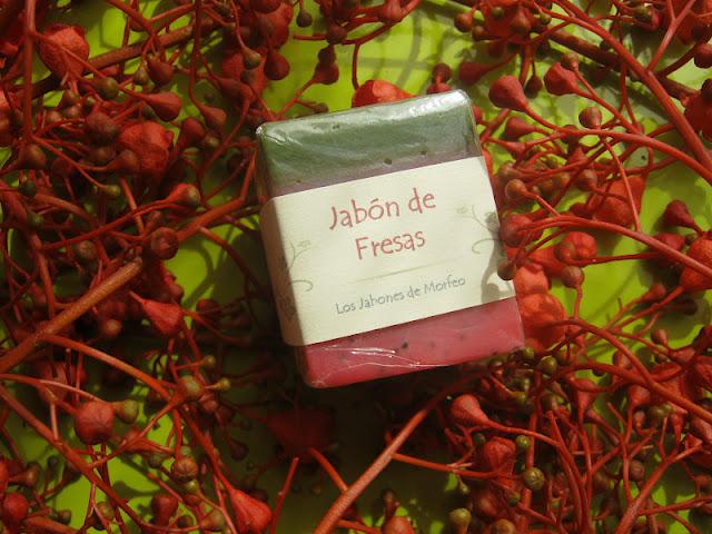 Jabón fresas