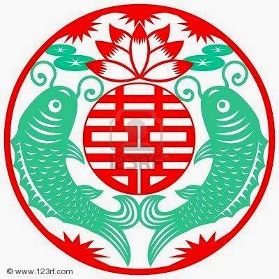 Símbolo chino de la boda
