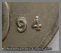 1994 20 Cents Key Date