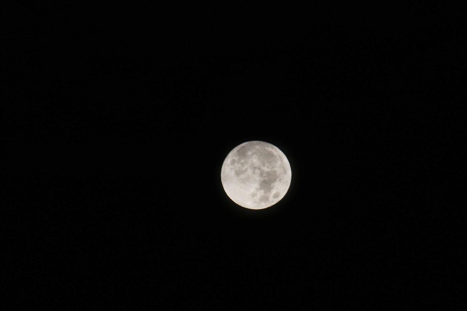 November's full moon