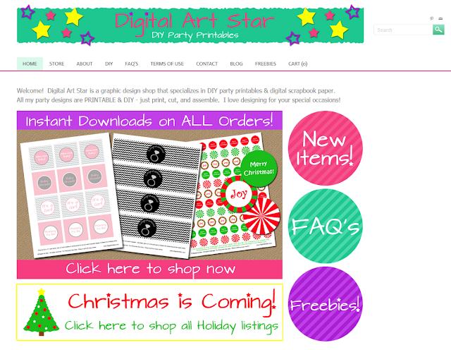 Digital Art Star website