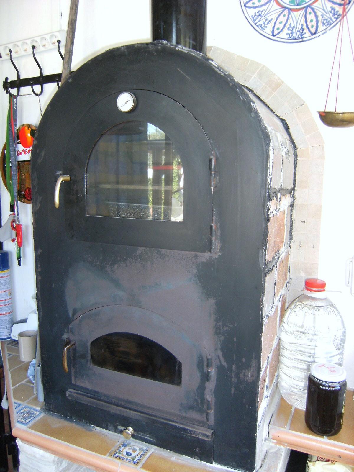 Energia solar casera y utiles c mo usar un horno de le a para calentar una habitaci n - Horno casero de lena ...
