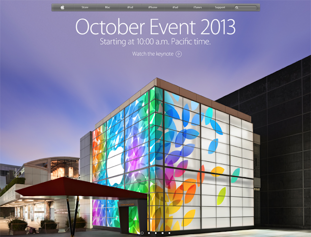 Apple Announces Live Stream iPad 5 Media Event on Web & Apple TV