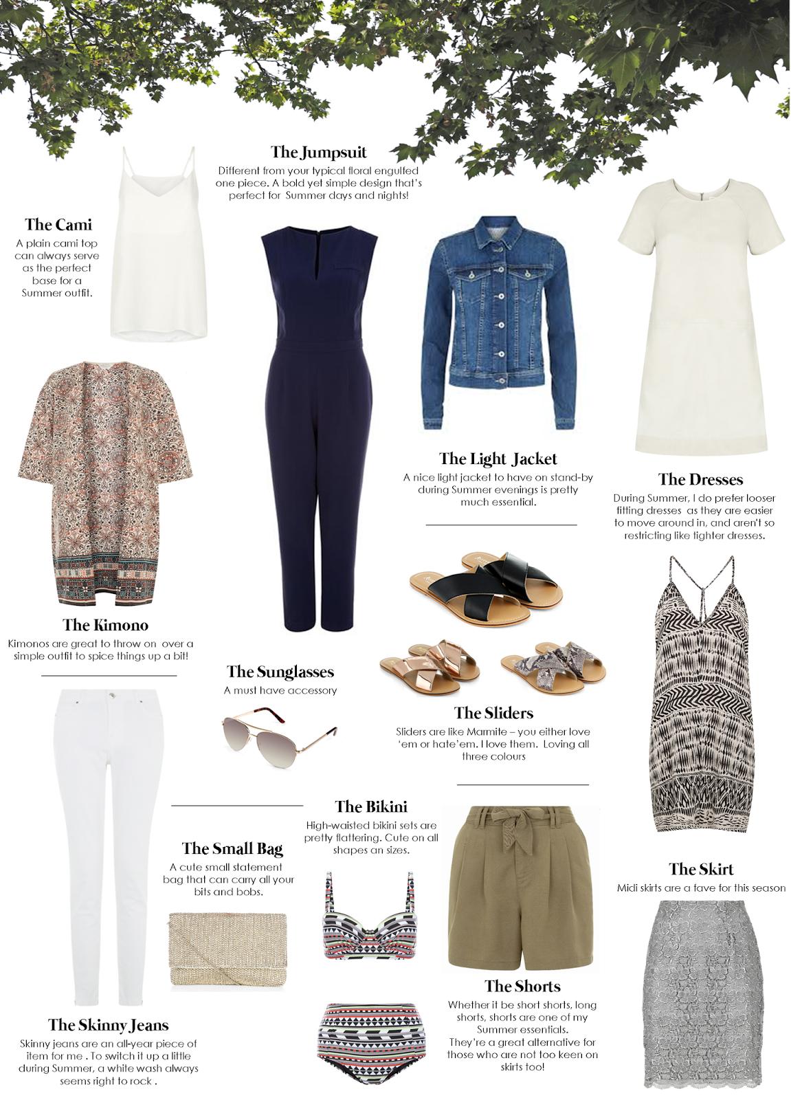 Fashion Blogger's Summer Essentials 2015