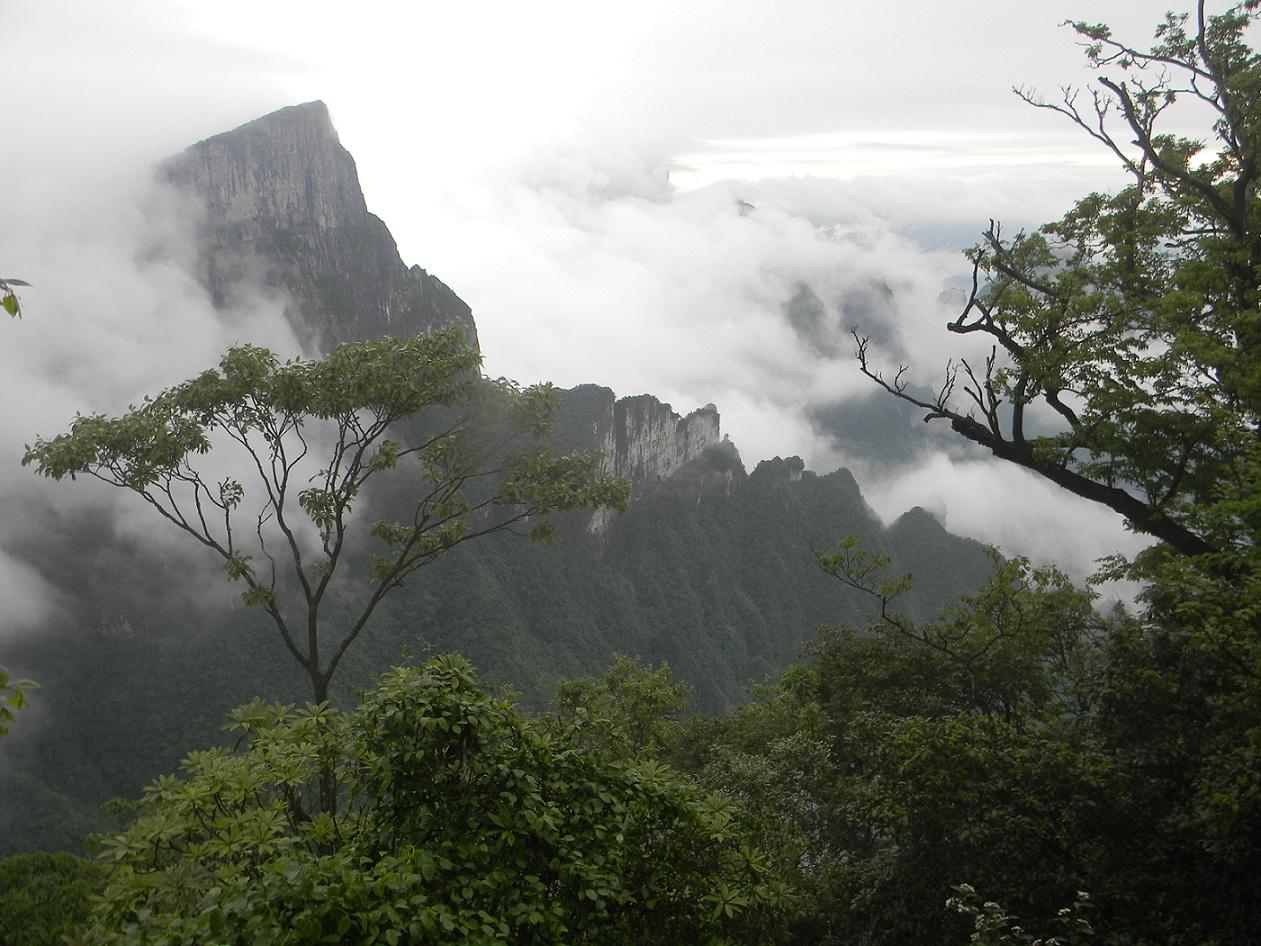 La monta a tianmenshan china for Puerta al cielo china