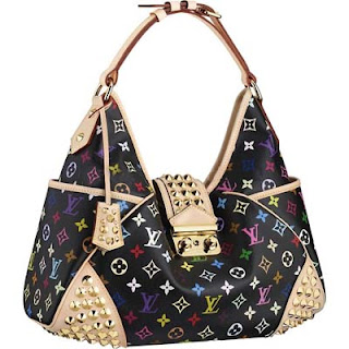Bolsos Louis Vuitton Chrissie MM M40310 Lona Monogram Multicolore
