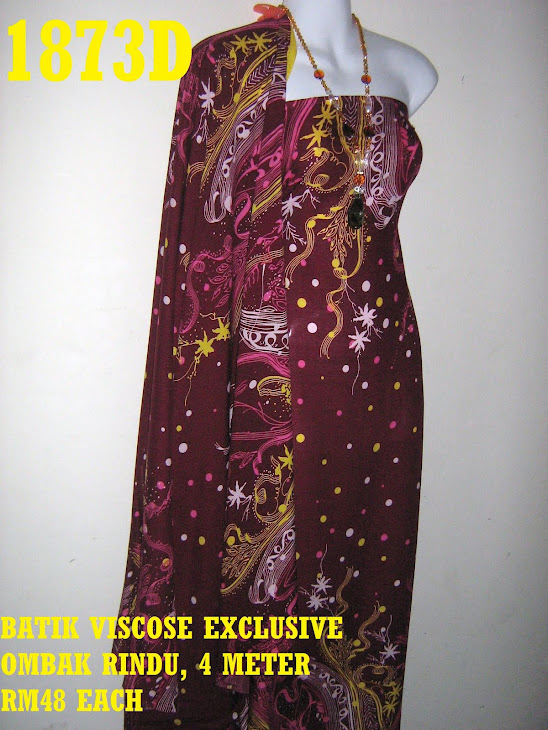 BV 1873D: BATIK VISCOSE EXCLUSIVE OMBAK RINDU, 4 METER