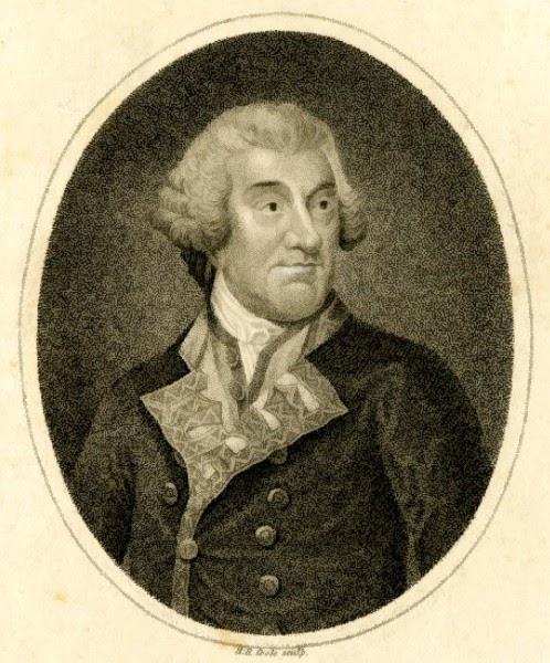 Sir Francis Geary  Print by HR Cook (1807) © British Museum