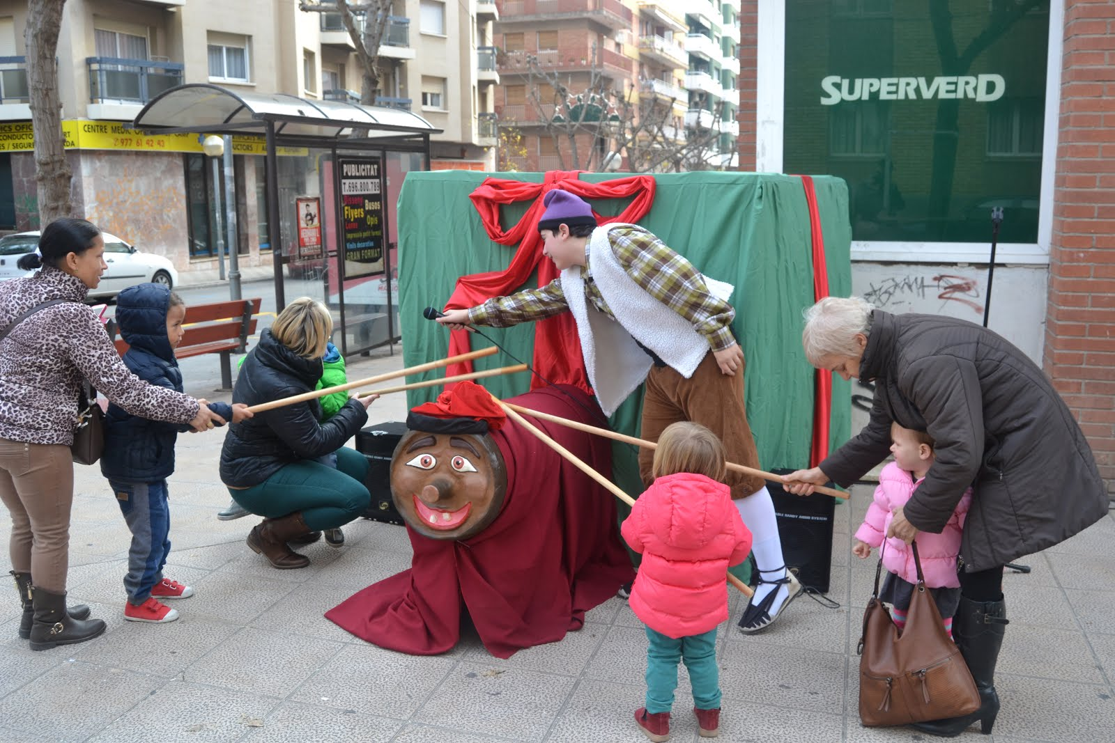 CagaTió a la Vallvera