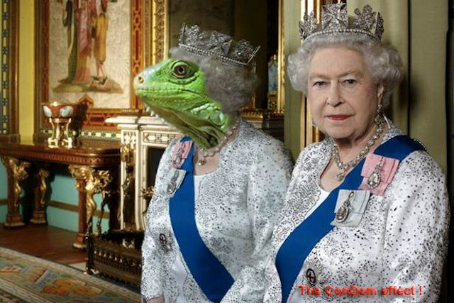 Queen Reptizabeth