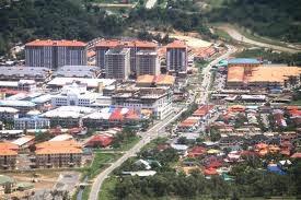 10 Bandar dengan Populasi Terbesar di Sabah dan Sarawak