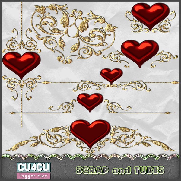 Valentine Charms (TS/CU4CU) .Valentine+Charms_Preview_Scrap+and+Tubes