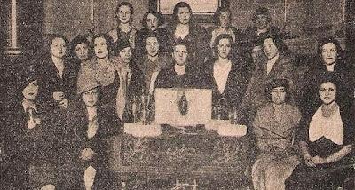 Campeonato femenino de ajedrez en Madrid, años 30