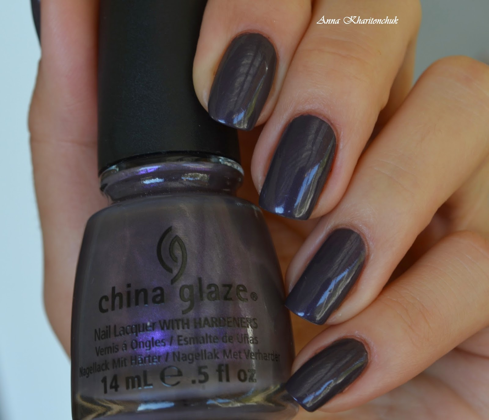 China Glaze Jungle Queen + стемпинг Lesly