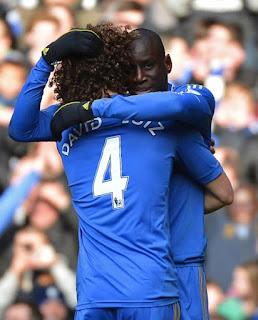 Demba Ba & David Luiz