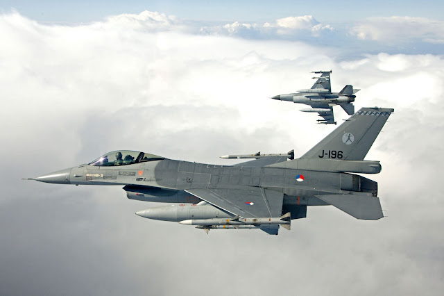 RNLAF F-16 Fighting Falcons