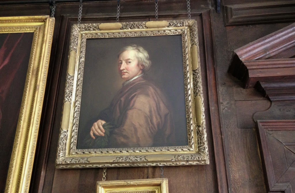 John Dryden at Canons Ashby