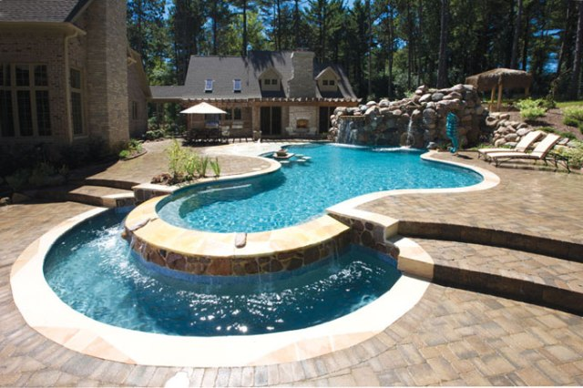 landscape pool is suitable for the current mix of landscapes pools
