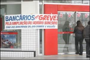 Bancários do RS inventam a greve terceirizada.