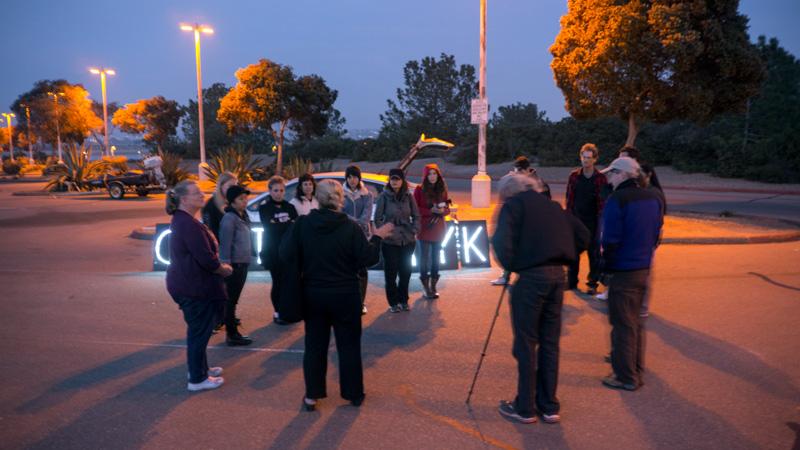 CAPTIVITY KILLS - Light Brigade Protest at SeaWorld Reception