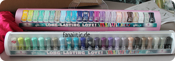 essence the gel nail polish shelfie Sommersortiment 2015