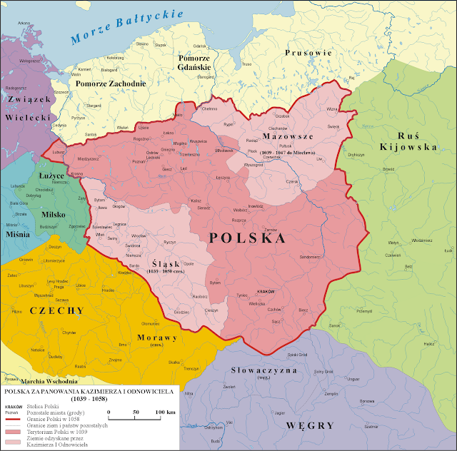 Polska w latach 1039 - 1058