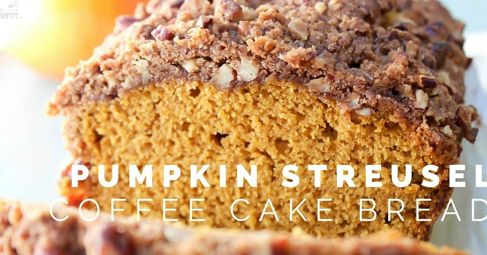 Pumpkin Streusel Coffee Cake Bread | Love Bakes Good Cakes